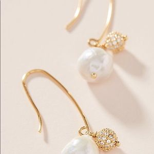 Free people Lorna Pearl Drop Earrings